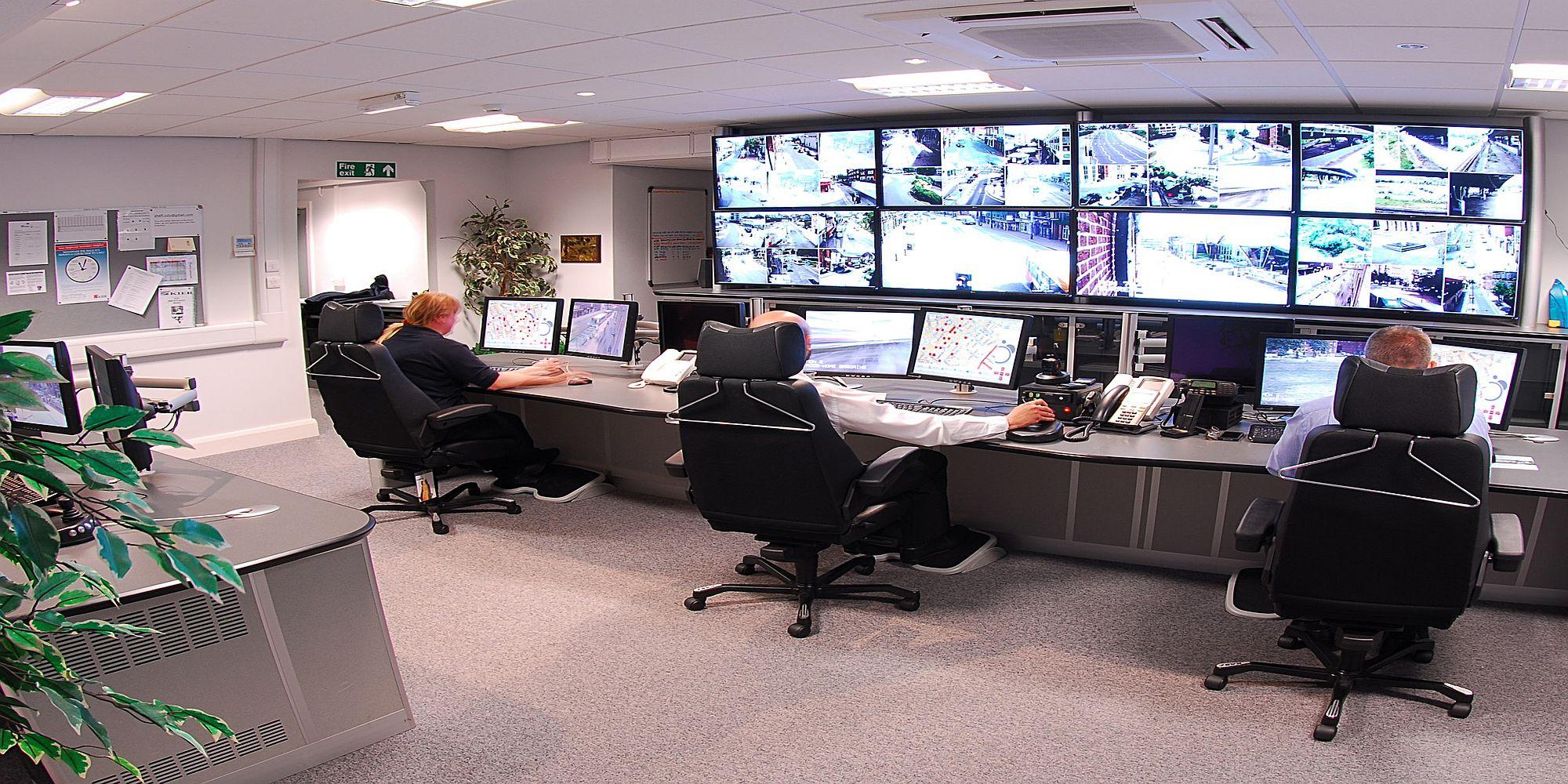 Centrum nadzoru wizyjnego